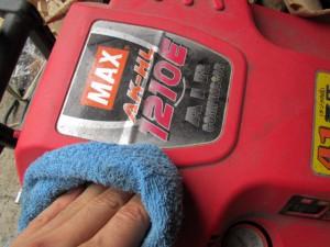 高圧コンプレッサー 掃除
