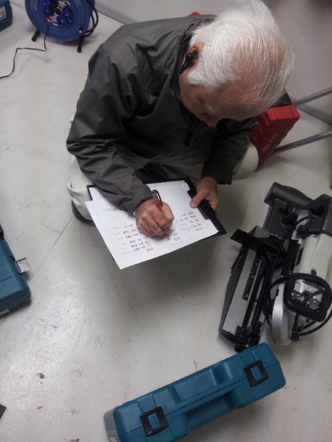 電動工具 検品作業