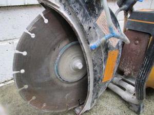 エンジンカッター 研削ブレード 保護カバー