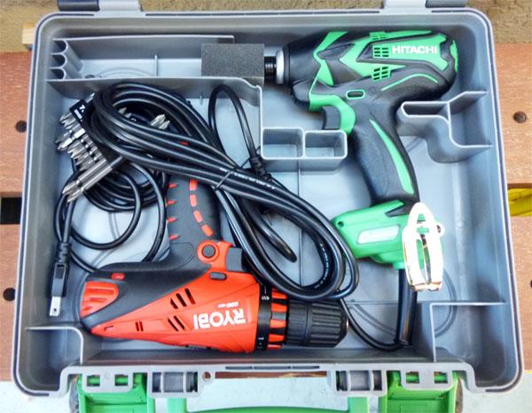 電動工具の保管方法