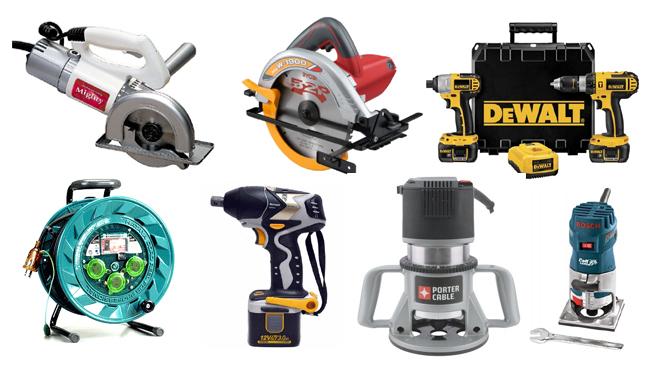 電動工具の種類