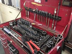 旧車、スーパーカー整備用の工具も買取