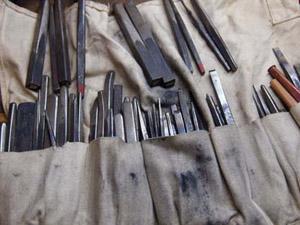 彫金工具の修理方法
