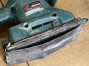 電動ヤスリの修理方法
