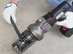 鉄筋カッターの使い方