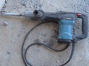 コンクリートハンマーの使い方