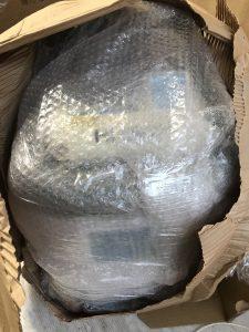 エアパッキン 巻きダンボール 梱包