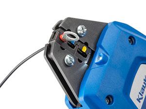 充電式圧着工具 圧着可能