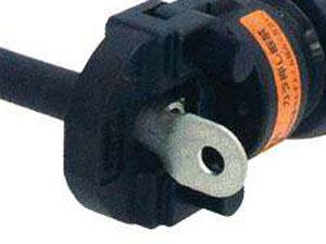 充電式圧着工具 ヘッドの回転可能