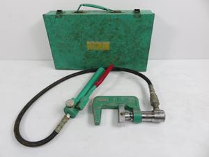 亀倉精機 油圧式 パイプ断水機 買取