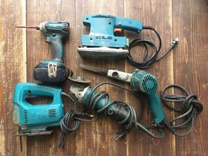 台風大雨災害で電動工具の需要が増していますのでお売り下さい!