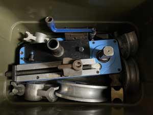 TASCO タスコ REMS 電動ベンダーの梱包